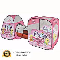 Tomindo Toys Tenda Terowongan Anak Pony 270cmx92cmx92cm - Mainan Anak Tenda Terowongan Kuda Poni