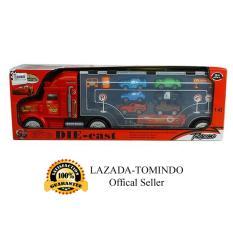 Jual Tomindo Toys Mainan Anak Truck With Cars Mcqueen Mobil Mobilan Truk 82045 Indonesia Murah