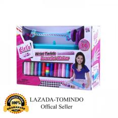 Tomindo Toys Wrists Bracelets Maker Mbk219 / Mainan Anak / Gelang / Alat Pembuat Gelang / Mainan Anak Perempuan By Tomindo.