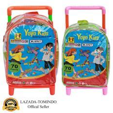 Tomindo Toys - Yoyo Kids Trolley Block 70 pcs - BL070T