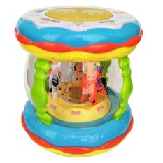 Tomindo Wonderland Merry Go Round Music Drum (Baterai diCharge + USB Cable + Colokan Mp3) CY6067B
