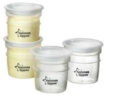 Spesifikasi Tommee Tippee Breast Milk Storage Pots 4 Pack 0M Yang Bagus