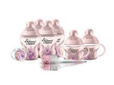 Miliki Segera Tommee Tippee Closer To Nature Decorated Bottle Starter Set Pink