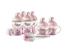Beli Tommee Tippee Closer To Nature Decorated Bottle Starter Set Pink Di Indonesia