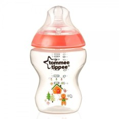 Katalog Tommee Tippee Closer To Nature Limited Edition Gingerbread 260Ml Bottle Red Terbaru
