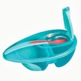 Promo Tommee Tippee Heat Sensor Twin Taste Bowl Biru Murah