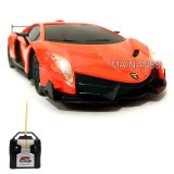 Toko Top Speed Rc Mobil Lamborghini Veneno Skala 1 24 Orange Top Speed