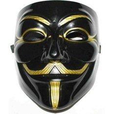 Kualitas Topeng Anonymous Black Original Canada Topeng