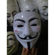 Topeng Anonymous / Vandetta / Hacker - 5Caae7 - Original Asli
