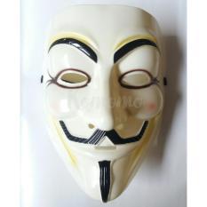 Beli Topeng Anonymus V For Vendetta Cream Secara Angsuran