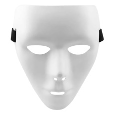 Topeng Jabbawockeez Mask Action - White