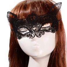 Topeng Party Pesta Wanita - Sexy Mask New Branded - 009 - Hitam