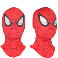Topeng Spiderman Bahan Kain Spiderman Mask Laba Laba Topeng Muka Halloween Kostum Topeng Full Face Wajah Pesta Party