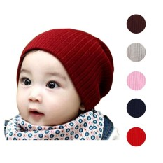 topi kupluk bayi dan anak anji rajut/beanie wol