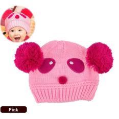 topi kupluk bayi Panda Lucu Berkualitas Tinggi Pola Bayi Cinta Bola Ganda Balita Cewek/Cowok