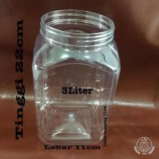 Toples Plastik Ikan 3 Liter / Toples Cupang / Toples Ikan - 56Cbb9 - Original Asli