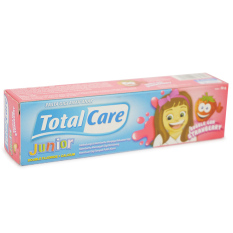 Total care Pasta Gigi/Toothpaste Junior Bubble Gum Strawberry 50gr - FSG005