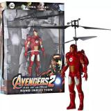 Toy Avengers Flying Iron Man Red Toy Diskon