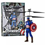 Toy Flying Avengers Captain America Blue Promo Beli 1 Gratis 1