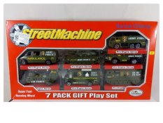 Beli Toy Pro Engine Series Streetmachine Miniatur Mobil Tentara 7Set Kredit