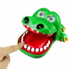 Toylogy Mainan Gigit Buaya / Crocodile Dentist Finger Bite - Running Man Game