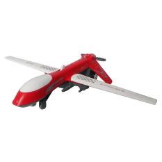 Toylogy Mainan Kendaraan Die Cast Metal Pesawat Terbang Sonic Dragon Wing Air Force Sound Light 8170 Red Asli
