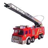 Harga Toylogy Mainan Kendaraan Mobil Pemadam Kebakaran Fire Squad Car Truck Red Murah