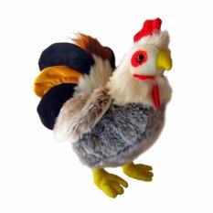 Toylogy Koleksi Boneka Hewan Ayam Jantan ( Standing Rooster Doll ) - 10 Inch