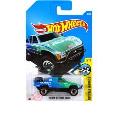 Toyota Off-Road Truck Biru / Blue Falken- Hot Wheels Hw Hotwheels - 65A7B5 - Original Asli