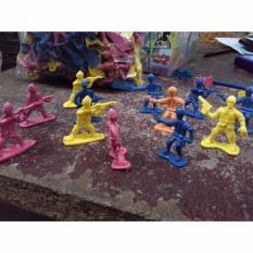 Toys Empire - Mainan Tentara Jadul , Mini , Warna Warni , Figure Set , Hobi Anak
