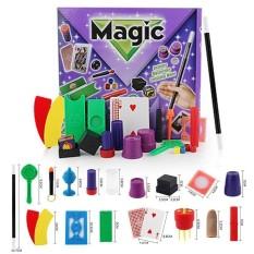 Tradisional Trik Sulap 11/17 Jenis Alat Peraga Perangkat Lengkap Set Trick Permainan-Internasional