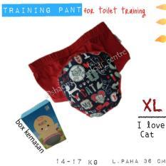 Jual Training Pant Klodiz Celana Latihan Pipis Size Xl 2 Pcs Branded Murah