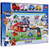 Diskon Transformable Parking Robocar Poli 660 197 Robocar Poli