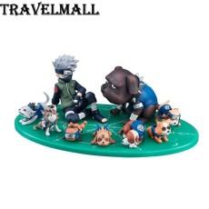 Sarung Tangan Kulit Terlaris - Coklat. Source · Travelmall Baru Dalam Kotak Anime 9 Pcs/set Hatake Kakashi Anjing Ninja 8 Cm PVC
