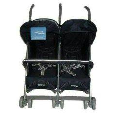 Toko Trevi Stroller Baby Elle Twin S 2500 Stroller Kembar Hitam Termurah Dki Jakarta