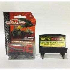 Truck Man Tgs Mixer - Skala 1:64 - Majorette (Diecast-Miniatur) - Abceda - Original Asli