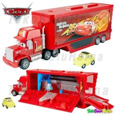 TSH Disney Pixar Cars 3 Travel Time Mack Transporter Truck Original Mattel