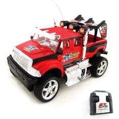 Promo Tsh Mainan Mobil Remote Control Mobil Rc Car Jeep King Driver Merah Tsh Terbaru