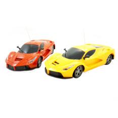 Diskon Tsh Mainan Mobil Remote Control Racing Crazy 1 24 1 Buah Warna Campur Tsh
