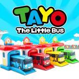 Toko Tsh Mainan Tayo Bus Garasi Little Bus Pull Back Isi 4 Buka Pintu Set Lengkap Banten