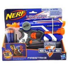 TSH Nerf N-Strike Elite Firestrike Blue Mainan Pistol Hasbro - Multi Colour