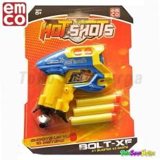 Tsh Pistol Mainan Mirip Nerf Gun Emco Hot Shots Bolt-Xf Pocket Gun By Tokosatuharga.