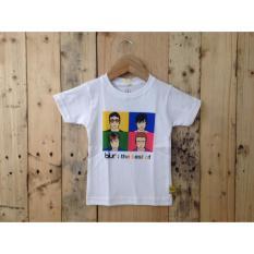 Harga Tshirt Kaos Band Anak Bayi Blur Happy Pupu Terbaik