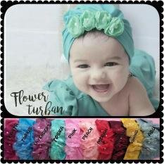 turban pita motif bunga baby / kids / kid /anak / bayi
