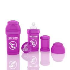 Review Twistshake Anti Colic 180 Ml Purple Indonesia