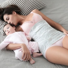 Dua Potong Pakaian Bersalin Sabuk Perut Pelangsing Sabuk Paska Melahirkan Setelah Perban Kehamilan Baju Renang Pascapersalinan Hamil Ikat Pinggang (Ukuran: XL)-Intl