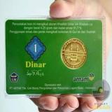 Harga Uang 1 Dinar Not Specified Ori
