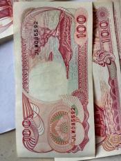 Uang Jadul Kuno Seratus Rupiah Baru Terawat