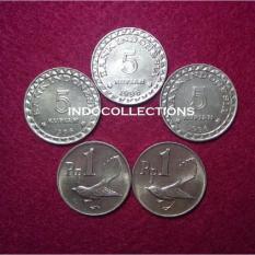 Uang Kuno Uang Lama Koin 17 Rupiah Untuk Mahar 5+5+5+1+1 - 9Ec6ba - Original Asli