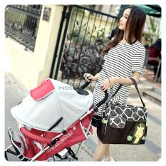 Jual Premium Waterproof Tas Bayi Besar 4 Saku Extra Free Alas Tas Baby Tas Diapers Susu Perlengkapan Bayi Baby Diaper Bag By 01 Girraffe Lengkap
